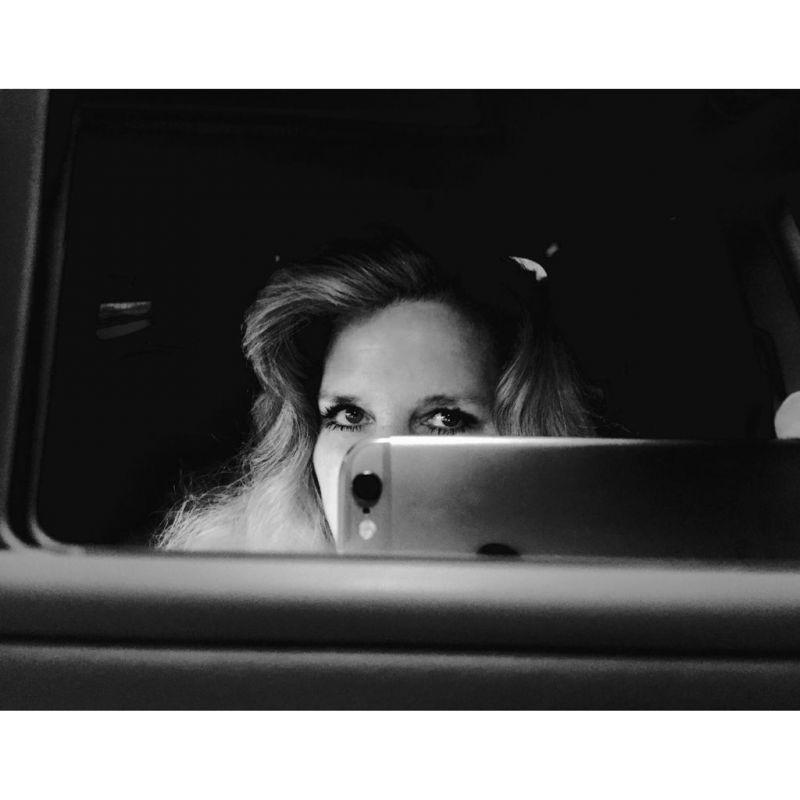 Auto-portrait, Night in Car