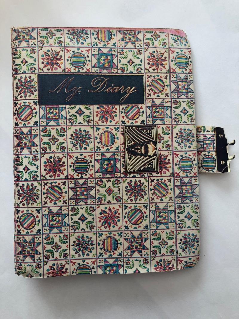 From Handmade book: My Diary